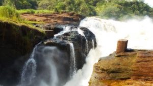 murchison falls national park - top of the falls - Attractions in Gulu